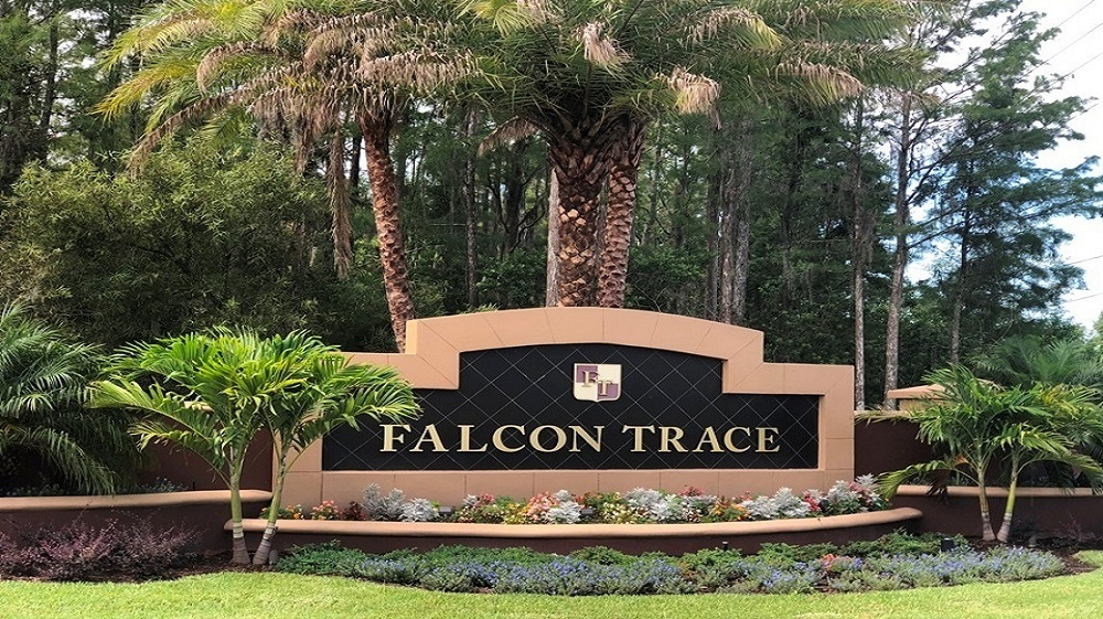 Falcon Trace Main Entrance
